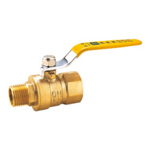 MF Lever Brass Gas Ball Valve