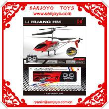 LH1101-2 aleación estructura helicóptero 3.5CH w / blades dobles