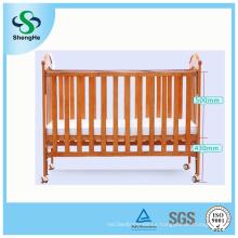 Multifuncional de madera sólida de seguridad Baby Crib