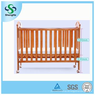 Multifunktionale solide hölzerne Sicherheit Babykrippe