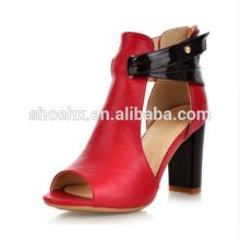 Подлинный женщин Размер 35-43 натуральной кожи высокий каблук сандалии, мода обувь, женщин реальный натуральной кожи летние босоножки каблуки Размер 35-43 натуральной кожи женщин высокой пятки сандалии, мода обувь, женские реальный натуральной кожи летом