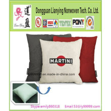Decoración de la cubierta del cojín del sofá de la caja de la almohadilla de lino de Fashioncotton