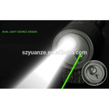 2015 new green laser flashlight for sale, laser beam flashlight