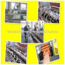 Wpc Maschinen mit recycelten Kunststoff und Reis Schale-wpc Produktionslinie