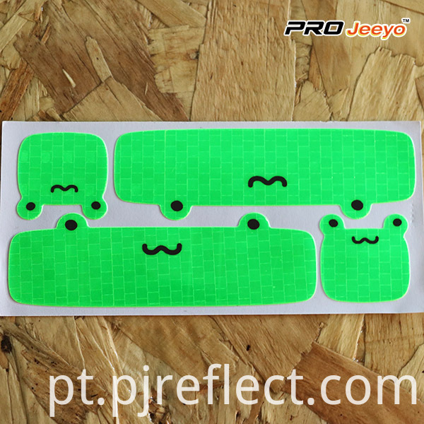 Reflective Soft High Bright Frog Patches For Cycling