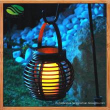 Solar Rattan Garden Restaurant Bar Balcony Chandelier Lamp