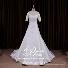 Обслуживание OEM новейшие дизайнерские свадебные платья китайский линия французский стиль платья