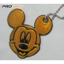 Hi-Vis PVC Sheet Khaki Mickey Pendant For Young