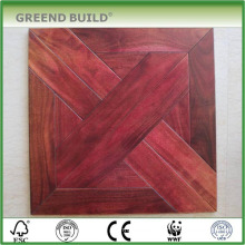 Different wood parquet floor wood tiles bathroom