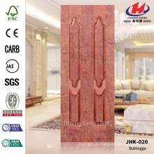 JHK-020 La mayoría de la venta gran tamaño diseño enorme certificado de lujo HDF Bubingga Hoja de la puerta