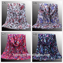 New Pattern arrival Muslim women like beautiful Printed floral hijab