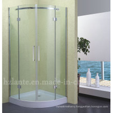 Bathroom Fitting Stainless Steel Shower Enclosure with Low Tray (LTS-010)