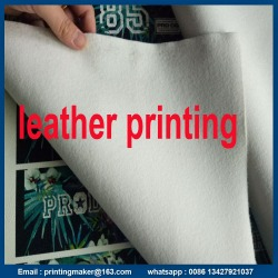 UV Flatbed Printing for Leather Printing Service