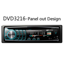 Detachable Panel out One DIN 1DIN Car Entertaiment Stereo DVD Player Radio FM/Am USB SD Aux MP3 Multimedia Audio Video Entertaiment System