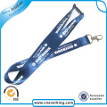 Free Shipping No Logo Custom Lanyard with Metal Hook
