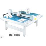 paper box die cut plotter sample flat bed machine