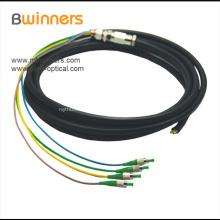 Cable flexible a prueba de agua Sc Apc monomodo
