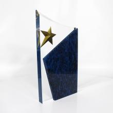 APEX Wholesale Customized Shapes Star Football Acrylic Award