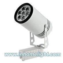 7W levou iluminação de pista de poupança de energia de lâmpada branca pura