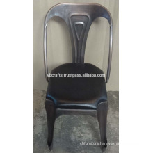 vintage industrial leather seat chair