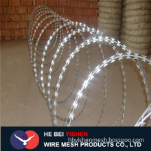 Razor Barbed Wire Mesh panel Fence