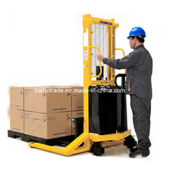 Semi Electric Stacker Forklift for Sale