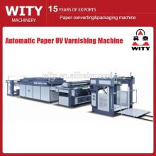 Acristalamiento de papel automático y máquina de recubrimiento de aceite