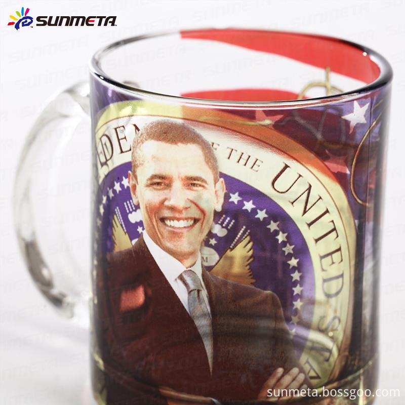 Sublimation glass mug3