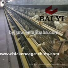 Sistema de colon enriquecido Jaula de pollo para aves de corral para granjas