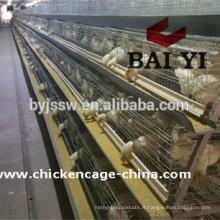 Cage de poulet de volaille de système de colonie enrichie pour des fermes