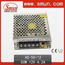 Smun 50W 12V / 15 / 24V Fonte de alimentação de pequeno volume com 111 * 78 * 36mm