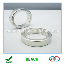 néodyme d'aimant fort anneau radialement magnétisé