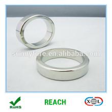 сильный неодимовый магнит радиально намагниченных кольцо