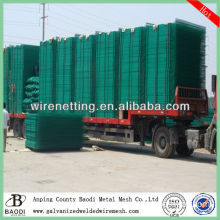 plastic welded building hog wire fence panel