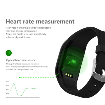 Hartslagmeter Touch Screen Smart Armband