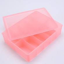 Hot Selling Plastic Underwear Box com tampa