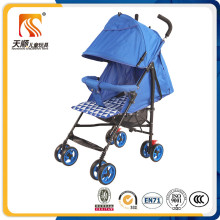 Best Quality Silk Floss and Oxford Cloth Material Baby Pram with Adjustable Canopy
