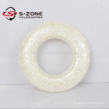 Plastikhülle Weiß für Vorhänge
