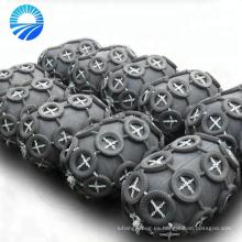 Parachoques de muelle inflables de goma para el petrolero grande