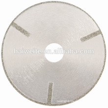 Electroplated Diamond Continuous Rim Blade