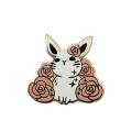 Pin de solapa de esmalte duro animal lindo personalizado