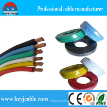 Single Core Multi-Strang PVC Isoliert AWG 14 Thhn Kabel Draht, AWG 12 Thw Kabel, Ningbo Shanghai Port