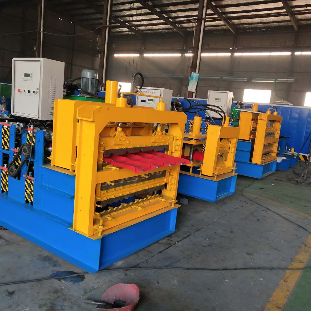 Three Layer Forming Machine