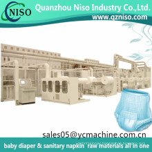 Disposable Incontinence Product Adult Pull up Diapers Manufaturing Machine