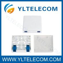 Caja de montaje de fibra óptica 2Port