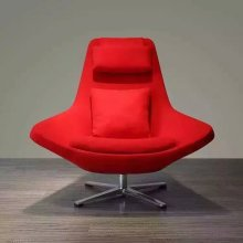 Color rojo silla, muebles únicos, arte moderno silla (XT05)