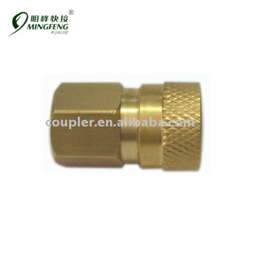 "High Quality Pressure Washer brass 1/8"" Hydraulic quick coupler"