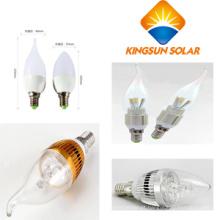 3W / 5W / E27 / E14, bulbos Cuspidal / Spuned da vela do diodo emissor de luz