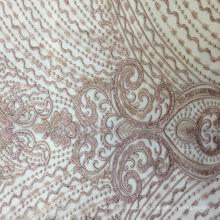 Tecido de bordado de design de Claasical para vestido de noite