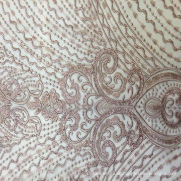 Claasical Design Stickerei Stoff für Abendkleid